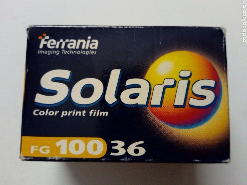 FERRANIA SOLARIS 100 - CARRETE DE PELÍCULA EN COLOR CADUCADA (ABRIL 2004) - LOMOGRAPHY - LOMO (Cámaras Fotográficas - Otras)