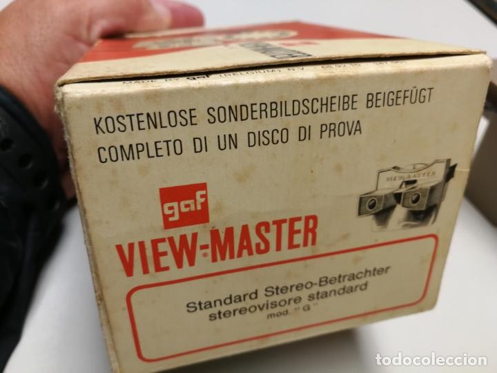 Cámara de fotos: VISOR ESTEROSCÓPICO VIEW-MASTER SAWYERS, MOD G, MADE IN BELGIUM, EN SU CAJA AÑOS 50 - Foto 4 - 177037575