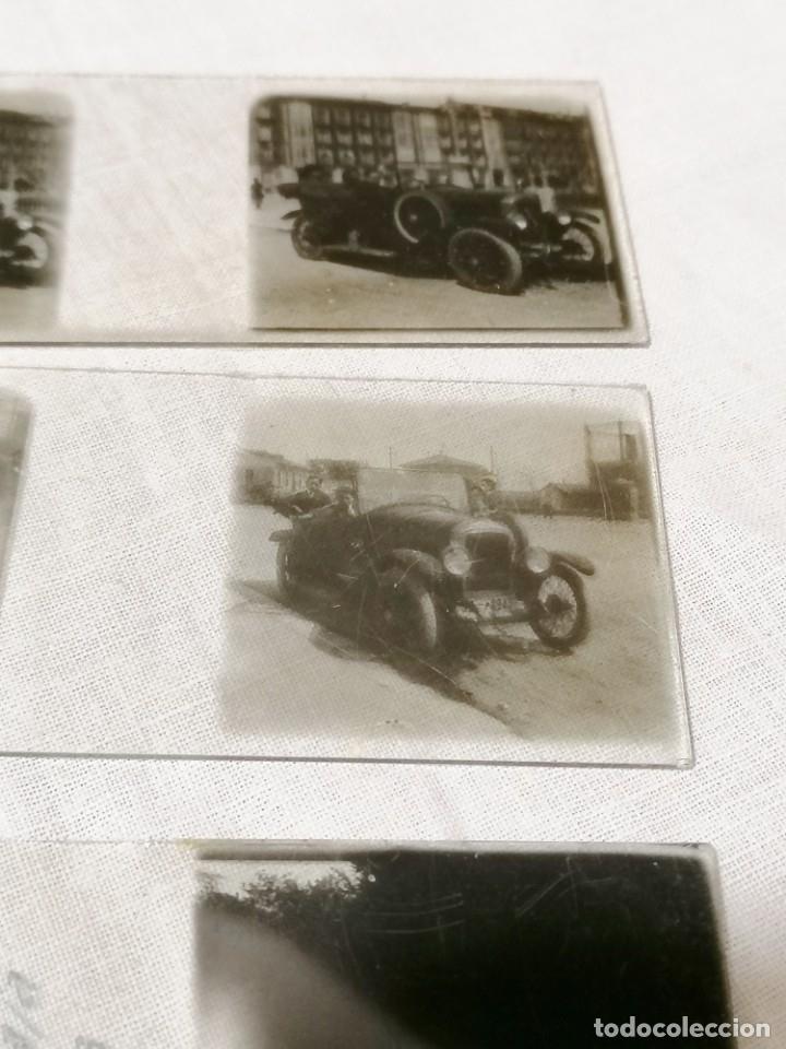 Cámara de fotos: Antiguas fotos de coches en cristal de 1923 para visor estereoscopico - Foto 3 - 177072367