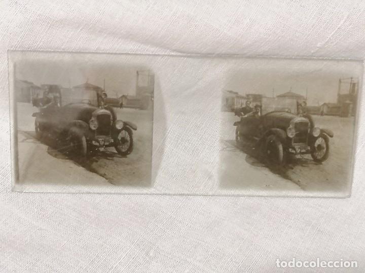 Cámara de fotos: Antiguas fotos de coches en cristal de 1923 para visor estereoscopico - Foto 4 - 177072367