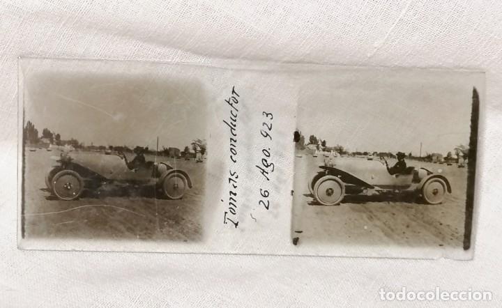 Cámara de fotos: Antiguas fotos de coches en cristal de 1923 para visor estereoscopico - Foto 5 - 177072367