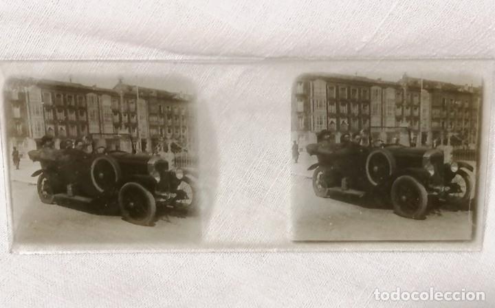 Cámara de fotos: Antiguas fotos de coches en cristal de 1923 para visor estereoscopico - Foto 6 - 177072367
