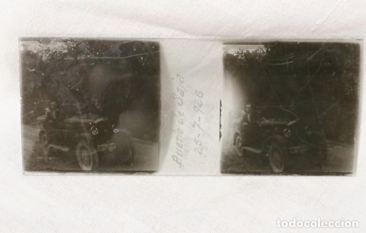 Cámara de fotos: Antiguas fotos de coches en cristal de 1923 para visor estereoscopico - Foto 7 - 177072367