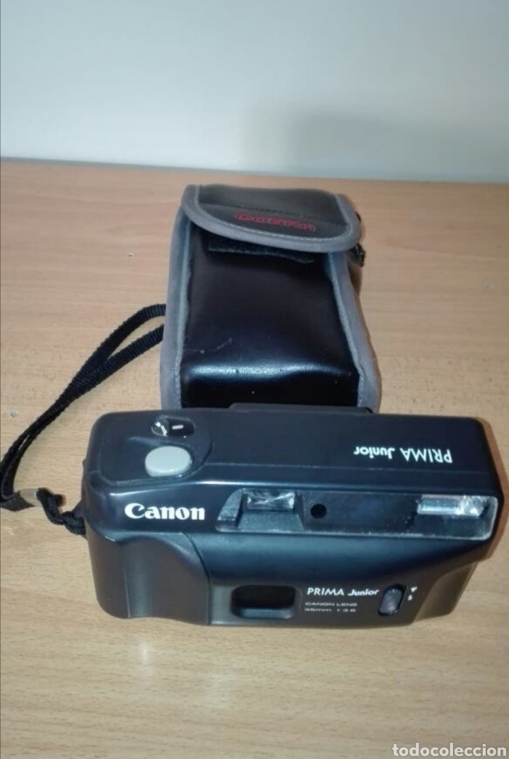 Cámara de fotos: Cámara analógica Canon Prima - Foto 2 - 177436103