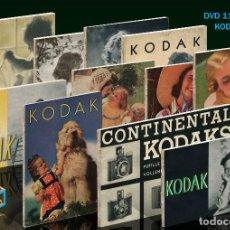 Cámara de fotos: DVD. 11 CATÁLOGOS KODAK. AÑOS 1932 AL 1939 FORMATO PDF. Lote 177521304
