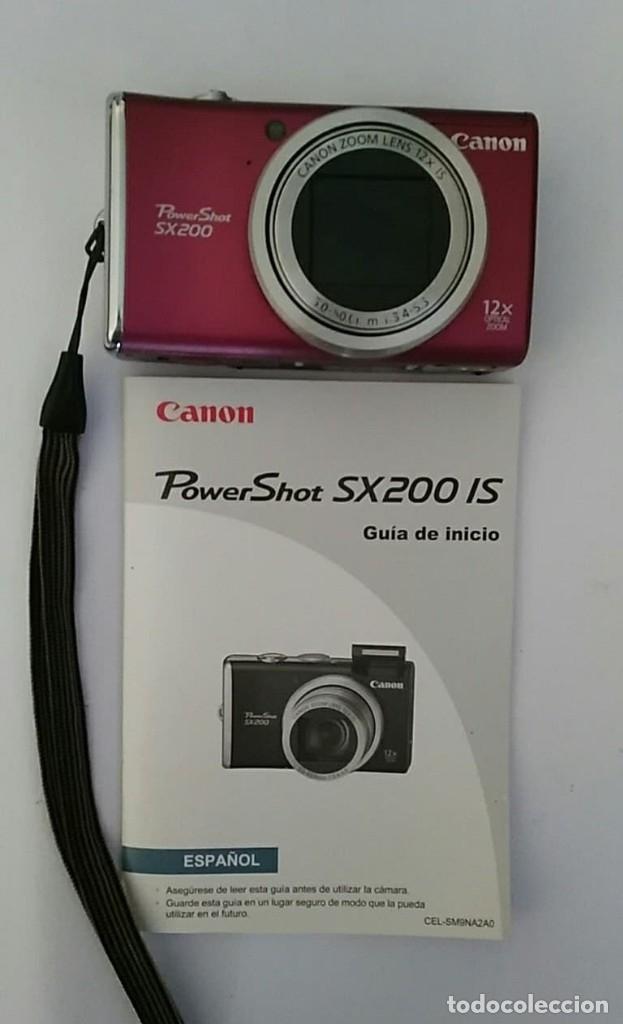 Cámara de fotos: CAMARA FOTOGRAFICA CANON POWER SHOT SX200 INCLUYE MANUAL,CARGADOR Y 3 BATERIAS - Foto 2 - 177588484