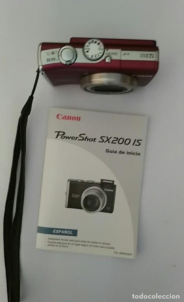 Cámara de fotos: CAMARA FOTOGRAFICA CANON POWER SHOT SX200 INCLUYE MANUAL,CARGADOR Y 3 BATERIAS - Foto 5 - 177588484