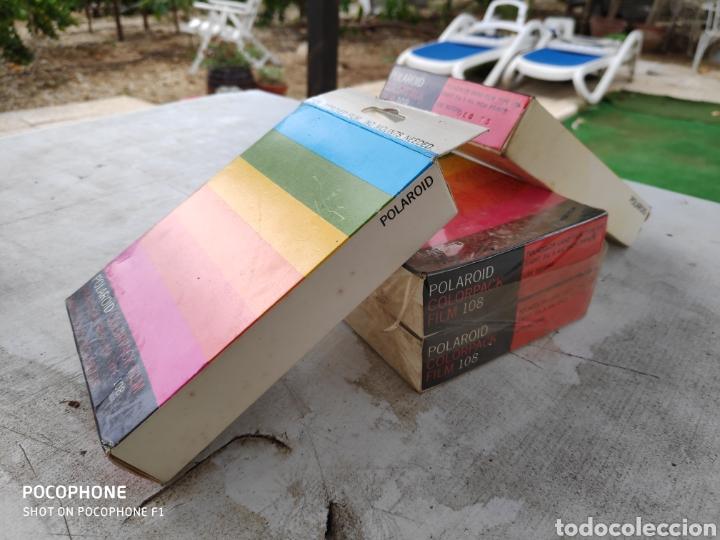 Cámara de fotos: 4 films Polaroid sin abrir colorpack 108 fecha cad decir 1973 - Foto 3 - 177641289