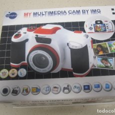 Cámara de fotos: MY MULTIMEDIA CAM BY IMG ITSIMAGICAL CAMARA DE JUGUETE. Lote 177728882