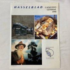 Cámara de fotos: HASSELBLAD CATALOGO PUBLICIDAD 1998. Lote 178919285