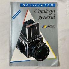 Cámara de fotos: HASSELBLAD CATALOGO PUBLICIDAD 1987 1988. Lote 178919288