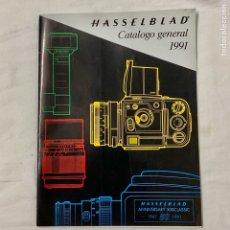Cámara de fotos: HASSELBLAD CATALOGO PUBLICIDAD 1991. Lote 178919317
