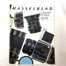Cámara de fotos: HASSELBLAD CATALOGO PUBLICIDAD 1992 1993. Lote 178919358