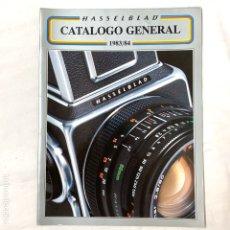 Cámara de fotos: HASSELBLAD CATALOGO PUBLICIDAD 1983 1984. Lote 178919412