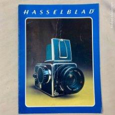 Cámara de fotos: HASSELBLAD CATALOGO PUBLICIDAD. Lote 178919461