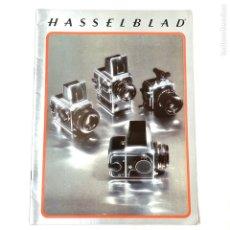 Cámara de fotos: HASSELBLAD CATALOGO PUBLICIDAD 1978. Lote 178919602