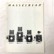 Cámara de fotos: HASSELBLAD CATALOGO PUBLICIDAD 1980. Lote 178919656