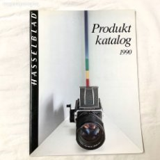 Cámara de fotos: HASSELBLAD CATALOGO PUBLICIDAD 1990. Lote 178919722