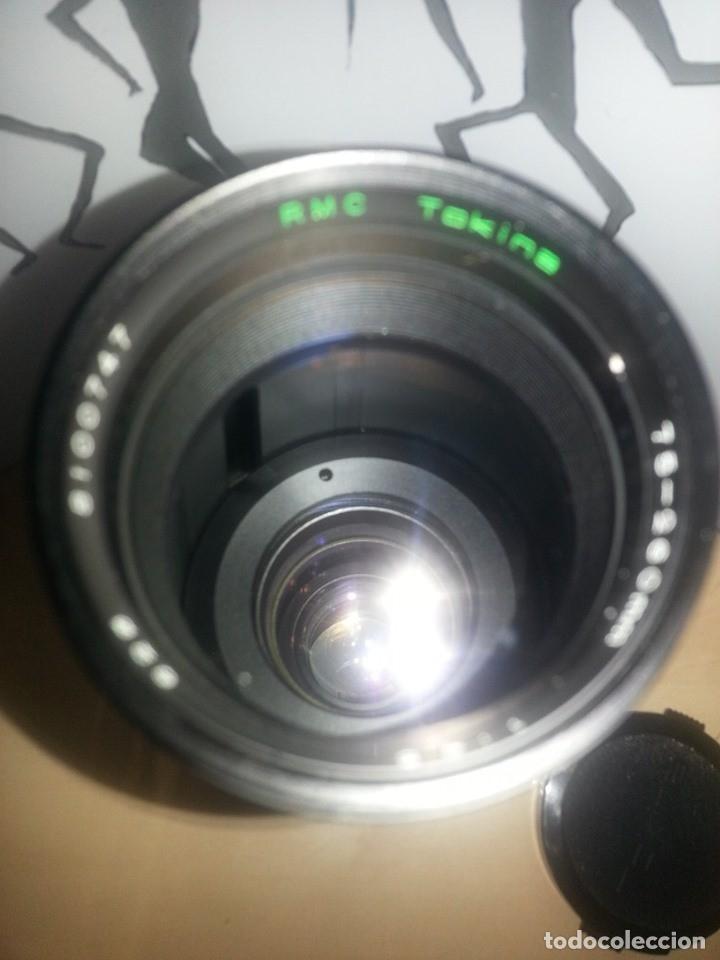 Cámara de fotos: TELEOBJETIVO TOKINA CON FUNDA ORIGINAL PIEL. 75-260mm ( VER FOTOS / CARACTERISTICAS ) - Foto 4 - 179189267