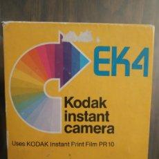 Cámara de fotos: CAMARA KODAK INSTANT EK4 EN SU CAJA ORIGINAL. SIN PROBAR. Lote 179222917
