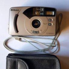 Cámara de fotos: CAMARA FOTOGRAFICA NIKON EF400SV CON FUNDA. Lote 179534343