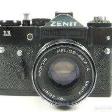 Cámara de fotos: CAMARA FOTOGRÁFICA ZENIT 11 + HELIOS M-4 58MM 1:2. Lote 180113947