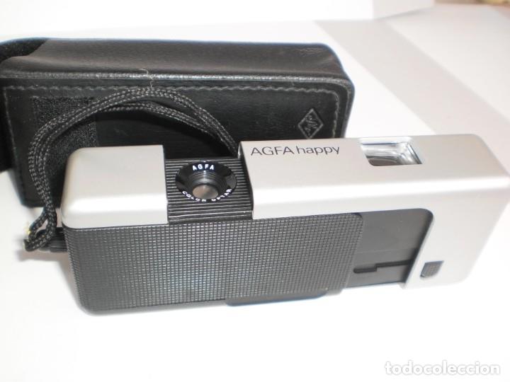 Cámara de fotos: cámara de fotografía agfa happy con funda protectora (estado normal) - Foto 3 - 180259317