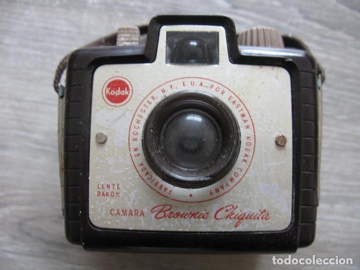 CAMARA DE FOTOS KODAK BROUNIE CHIQUITA (Cámaras Fotográficas - Otras)