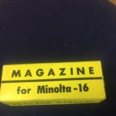 Cámara de fotos: FILM MAGAZINE - FOR MINOLTA - 16 M/M - MADE IN JAPAN. Lote 181402736