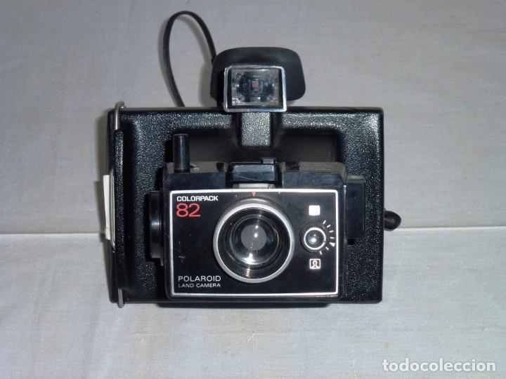 CÁMARA DE FOTOS ANTIGUA POLAROID MODELO COLORPACK 82 (Cámaras Fotográficas - Otras)