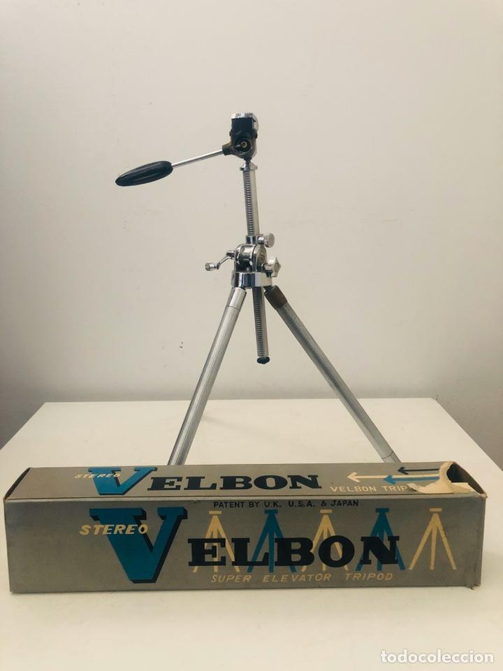 Cámara de fotos: Velbon Elevator Tripod 1973 - Foto 7 - 181575686