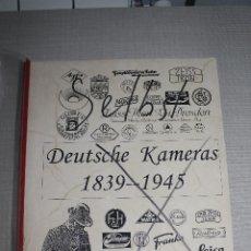 Cámara de fotos: CÁMARAS ALEMANAS 1839-1945. WILLI KERKMANN. Lote 181581221