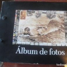 Cámara de fotos: ALBUM DE FOTOS CON CURIOSA PORTADA - POR ESTRENAR - ENVIO GRATIS. Lote 182012633
