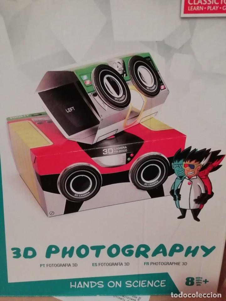 3D PHOTOGRAPHY. COMO CONSTRUIR TU PROPIA CÁMARA (Cámaras Fotográficas - Otras)