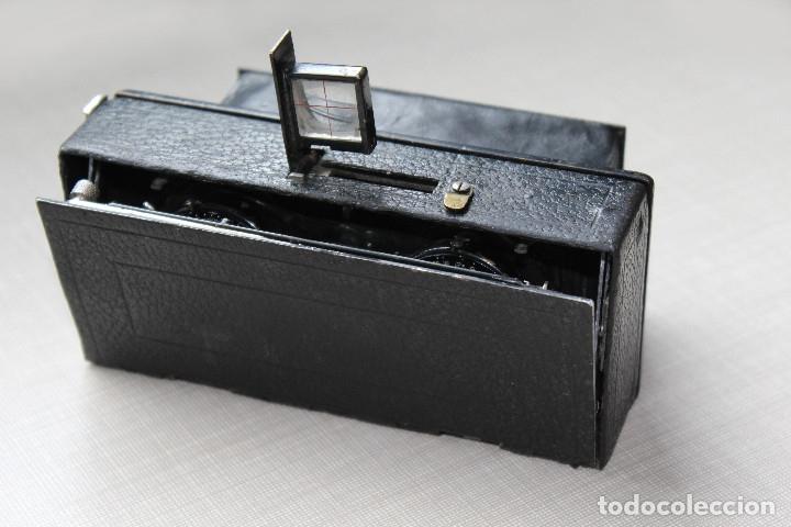 Cámara de fotos: Ernemann HEAG XV Stereo. Super escasa!! Estereo, madera. - Foto 3 - 182298746