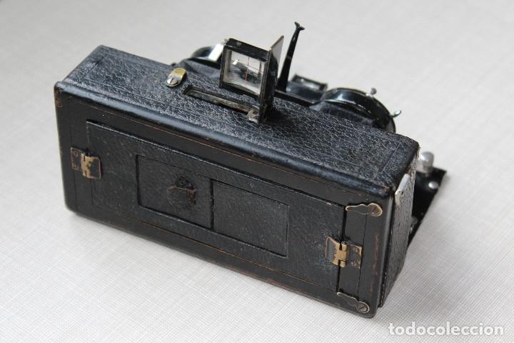 Cámara de fotos: Ernemann HEAG XV Stereo. Super escasa!! Estereo, madera. - Foto 9 - 182298746