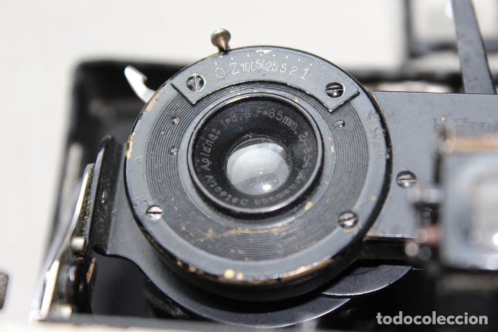 Cámara de fotos: Ernemann HEAG XV Stereo. Super escasa!! Estereo, madera. - Foto 12 - 182298746