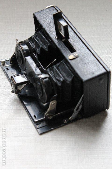 Cámara de fotos: Ernemann HEAG XV Stereo. Super escasa!! Estereo, madera. - Foto 13 - 182298746