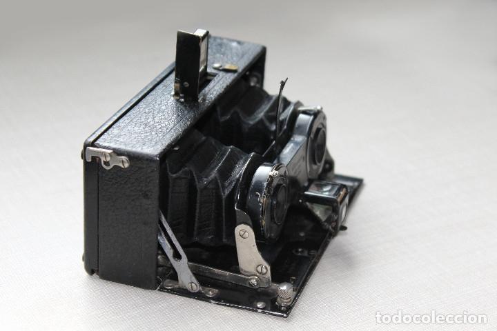 Cámara de fotos: Ernemann HEAG XV Stereo. Super escasa!! Estereo, madera. - Foto 14 - 182298746