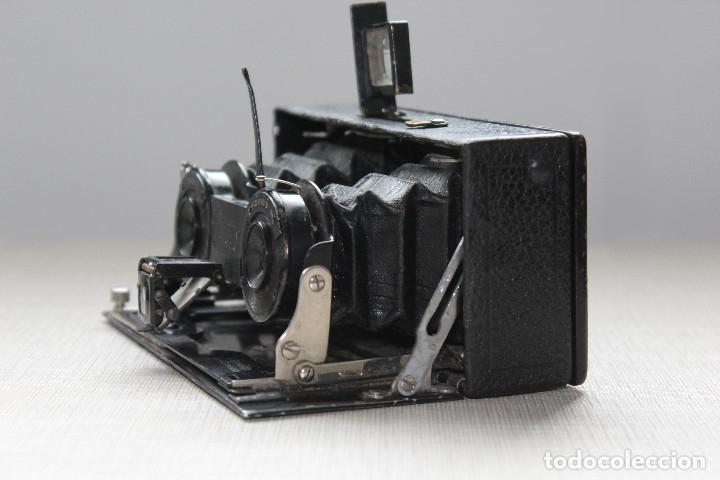 Cámara de fotos: Ernemann HEAG XV Stereo. Super escasa!! Estereo, madera. - Foto 16 - 182298746