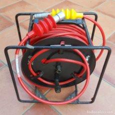 Cámara de fotos: CABLE TRIAX 11MM - 50 METROS CON CONECTORES LEMO. Lote 182350738