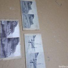 Cámara de fotos: 3 FOTOS ESTEROCOPIAS DE LLANDUDNO EN GALES INGLATERRA. Lote 182368462
