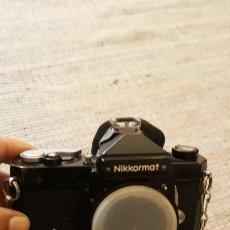 Cámara de fotos: CAMARA FOTOGRAFIA NIKKORMAT NIKON JAPAN CON EL ESTUCHE . Lote 182378553