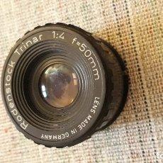 Cámara de fotos: OBJETIVO AMPLIADORA REDENSTOCK TRINAR 1:4 F = 50 MM, GERMANY. Lote 182381322