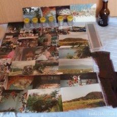 Cámara de fotos: CARTUCHOS DE FOTOS, PAPEL CELULOIDE REVELADO Y FOTOS VARIADAS. VINTAGE. CONJUNTO DECORACIÓN. Lote 182512528