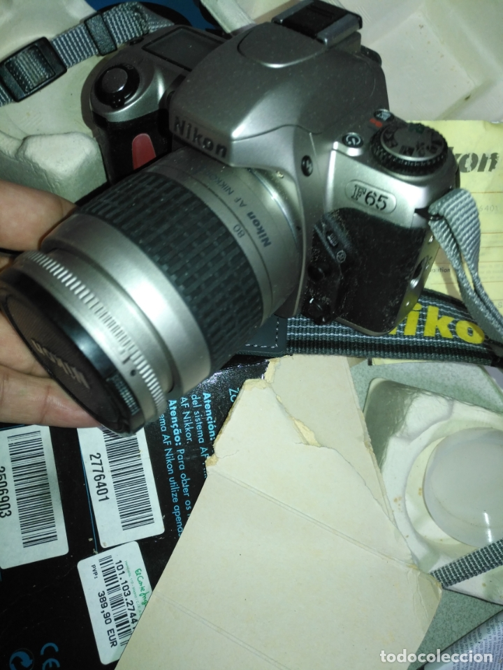 Cámara de fotos: NIKON F-65 camara fotografica . para piezas y repuestos no se porque no funciona - Foto 8 - 182525255