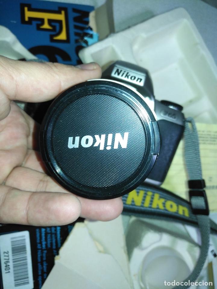 Cámara de fotos: NIKON F-65 camara fotografica . para piezas y repuestos no se porque no funciona - Foto 9 - 182525255