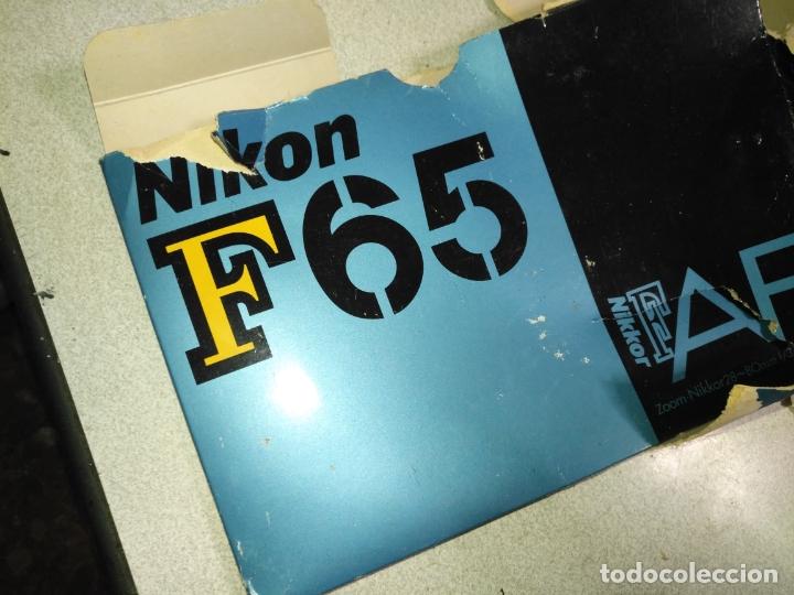 Cámara de fotos: NIKON F-65 camara fotografica . para piezas y repuestos no se porque no funciona - Foto 17 - 182525255