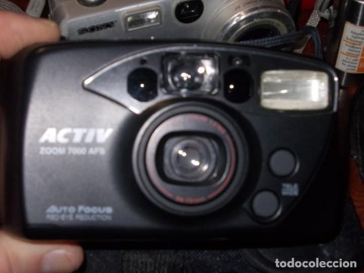 Cámara de fotos: Lote 9 cámaras fotográficas, todo sin probar. tres encienden, ver fotos y leer contenido. - Foto 5 - 182666745
