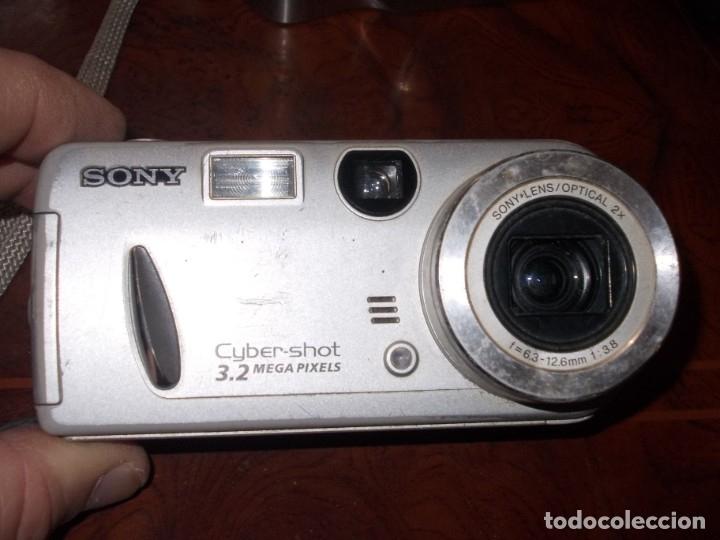 Cámara de fotos: Lote 9 cámaras fotográficas, todo sin probar. tres encienden, ver fotos y leer contenido. - Foto 13 - 182666745
